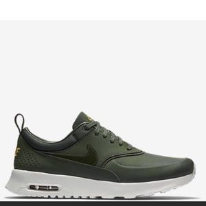 Nike Air Max Thea Olive Green Shoes